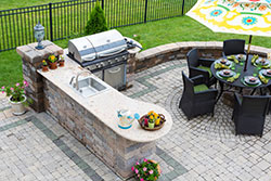 Phoenix Arizona outdoor bbq Granite kitchen Affordable Granite AZ