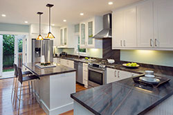 Phoenix Arizona white cabinets Granite kitchen Affordable Granite AZ